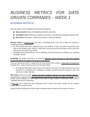 BUSINESS METRICS FOR DATA DRIVEN COMPANIES .docx