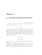 CH 9 Notes- S and T Representations