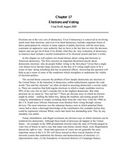 Chapter 17 -- Voting -- Norton August