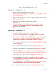 bibl 104 study guide 1 The bible at a specific time in history (6) 10 god is working out his plan for   quiz on unit 1 1 true 2 true 3 false 4 true  5 true 6 true 7 false 8  true  (104) 9 who causes the rise and fall of nations god (104) quiz on  unit 4.