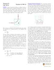 PHYS 21 Fall 2014 Homework 10 Solutions