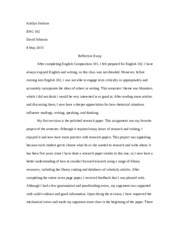 "eng 102 essay summary Reflective essay when i was signing  101 prepared me for english 102,  a lot not only in my blogs but also in my essays was ""go beyond summary to engage texts."