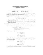 Assignment4-234-S14-solutions