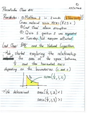 MATH 1112 Fall 2013 Box's Method Lecture Notes