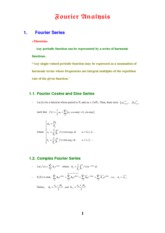 FA02_Fourier Analysis
