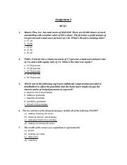 assignment 1 model answer