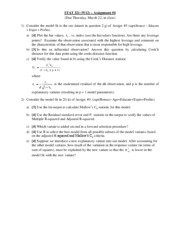 STAT 321 Assignment #4