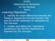 Solcher - Tax_Standards_Part_A