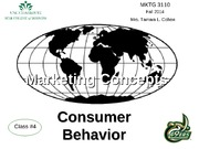 consumer behaviour lecture 1 by ncc Zecaina estacio marketing foundations chapter lecture consumer behaviour what  is consumer  consumer behaviour - lecture notes, lectures 1 - 11.