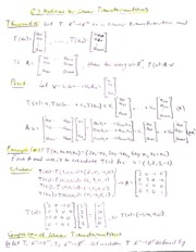 6.3 Matrices  of  Linear Transformations
