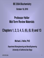 230A-MidTerm ReviewMaterials-Heller-101816