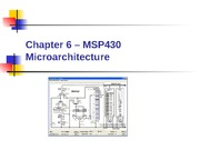 Chapter 06 - MSP430 Microarchitecture