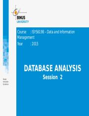 2. Z02410000120154002Session 2_Database Analysis.pptx