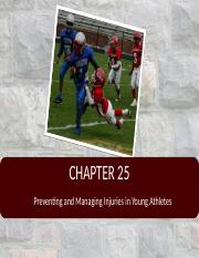 Chapter+25+-+Injuries+in+Young+Athletes.ppt