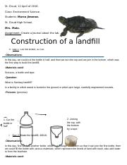 Construction of a landfill in a bottle.docx