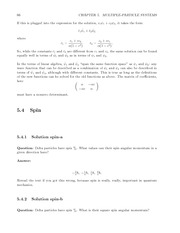 Fund Quantum Mechanics Lect & HW Solutions 84