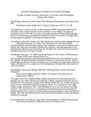 Annotated Bibliography on the Publications of Arthur Huckelbridge