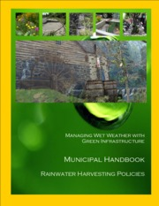 Municipal Handbook, Managing Wet Weather with Green Infrastructure (US EPA, Green Infrastructure, 20
