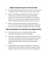 Mobile Phone Etiquette for Lectures .pdf