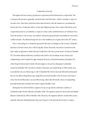 Khmer Rouge Research Paper Final Draft.docx