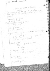 Lecture Notes 1