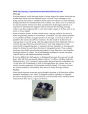 MineralCleavage Info