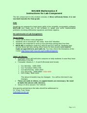 MA1506  Instructions for Lab Component.pdf