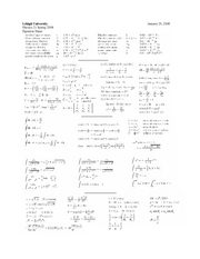Physics21EquationSheet-01-29-08