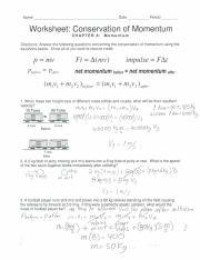 Unit 2 Momentum Conservation.pdf - Name Date Period ...