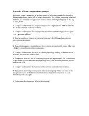 Synthesis exam 1 sample questions.docx