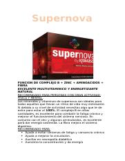 Estos son los ingredientes que incluye la tabla nutricional de SUPERNOVA.docx