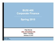 BUSI408- Intro and World of Finance