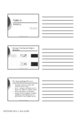 ACC00146 2011-1 Topic 6 Budgets Handouts