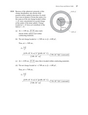 27_Ch 15 College Physics ProblemCH15 Electric Forces and Electric Fields