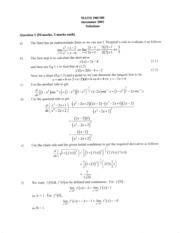 Math 100 Dec 01 Answers