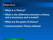 Defining Theory-1