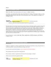 Mgmt592 - skill development week 3 essay