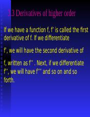 201410141610313.7_Derivatives of Higher Order.ppt