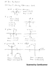 Calc 1 Notes, Inverse Trig Functions