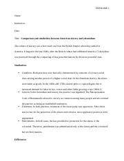 #111171_History - Colonial and American slavery.docx