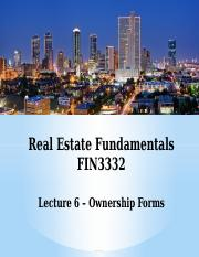 FIN3332-Lecture 6-Ownership Forms-F16-BB.pptx