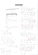 Statics Rodin Midterm 3 Problem 1 Solution