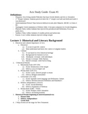 Acts Study Guide #1