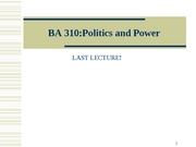 BA310-3-8 Politics and Power Final