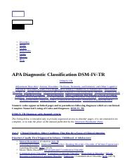 apa-diagnostic-classification-dsm-iv-tr.htm