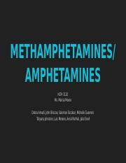 METHAMPHETAMINES%2F AMPHETAMINES
