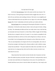 Kite Runner Paper one