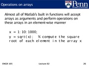 Lec02 - Machine model, Matlab introduction, and arrays.26