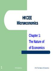 CH1-The Nature of Economics-SV