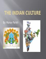 The Indian Culture.pptm